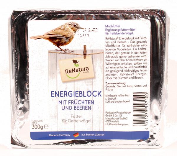 ReNatura® Energieblock mit Früchten und Beeren
