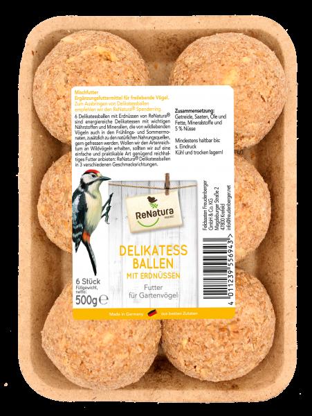 ReNatura® Delikatessballen mit Erdnuss ohne Netz