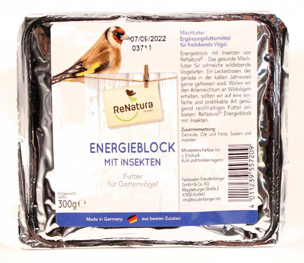 ReNatura® Energieblock mit Insekten
